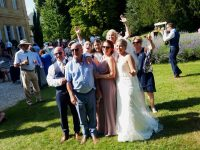 Wedding Guests at Chateau Durantie