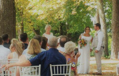 Wedding in Chateau de Cazanac Dordogne