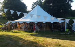 Wedding Marquee in the Dordogne