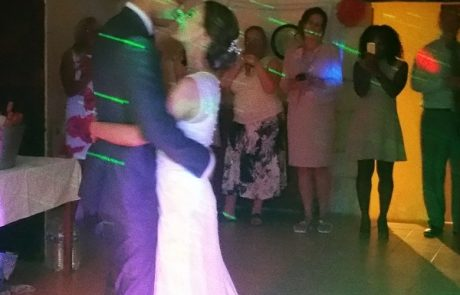 First Dance at Charente Wedding