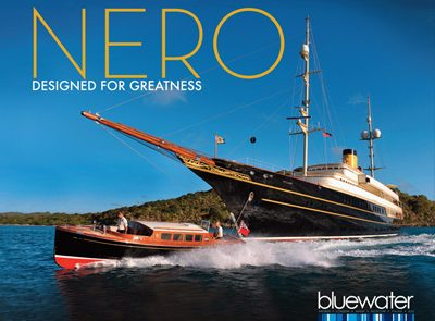 The Candies Vintage Performance on Super Yacht Nero