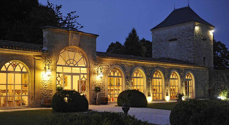 Chateau de la ligne wedding party
