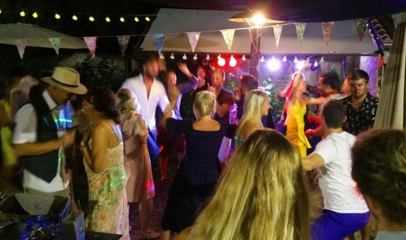 Pre wedding party in the Dordogne